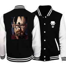 2017 Spring Hot Sale Breaking Bad Heisenberg Baseball Jackets Men Fashi