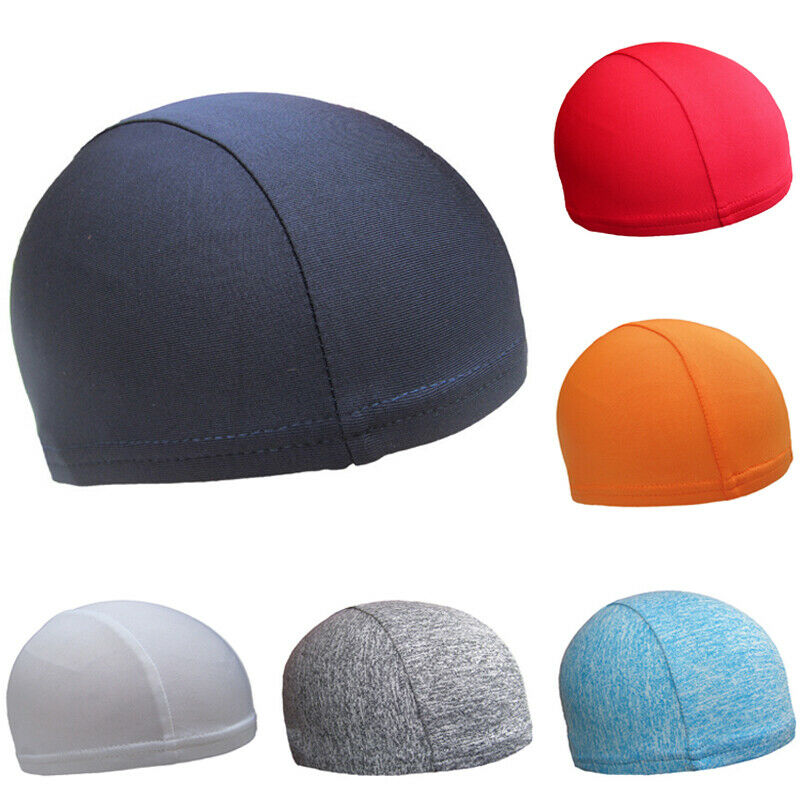 Beanie-Hat Skull-Cap Quick-Drying-Cap Sport Running Warm Thin Cotton Solid Stretch Cycling