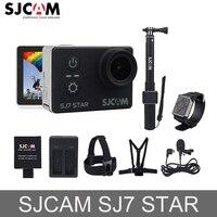 Оригинальные SJCAM SJ7 star экшен камера 2 ''звезда Wi Fi Сенсорный экран Ambarella A12S75 30 м Водонепроницаемый удаленного 4 К Спорт экшин Камера автомобиль