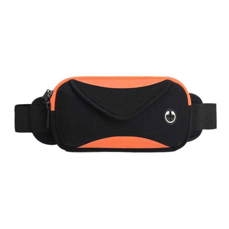 Running Waist Bag Women Men Large Capacity Elastic Zipper Buckled Strap Phone Storage Case Pouch Travel Climbing Sport Bag