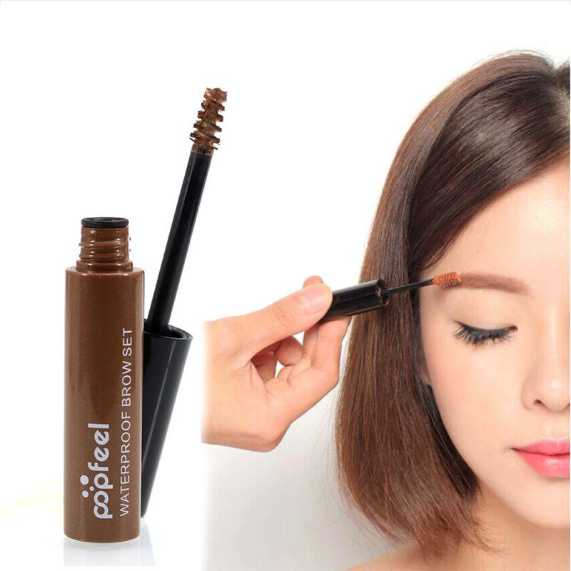 Professional 4 Colors Eyebrow font b Mascara b font Cream Eye Brow Shadow Maquiagem Set Kit