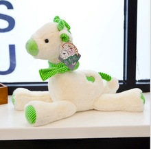 WYZHY New creative cute soft giraffe doll plush toy sofa bedroom decoration send friends children gifts 40CM