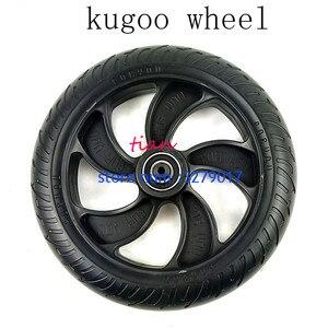 Бесплатная доставка, Новый 8-дюймовый скутер, пластик, одноцветное заднее колесо с хорошим качеством для KUGOO S1 S2 S3 ETWOW Xiaomi m365
