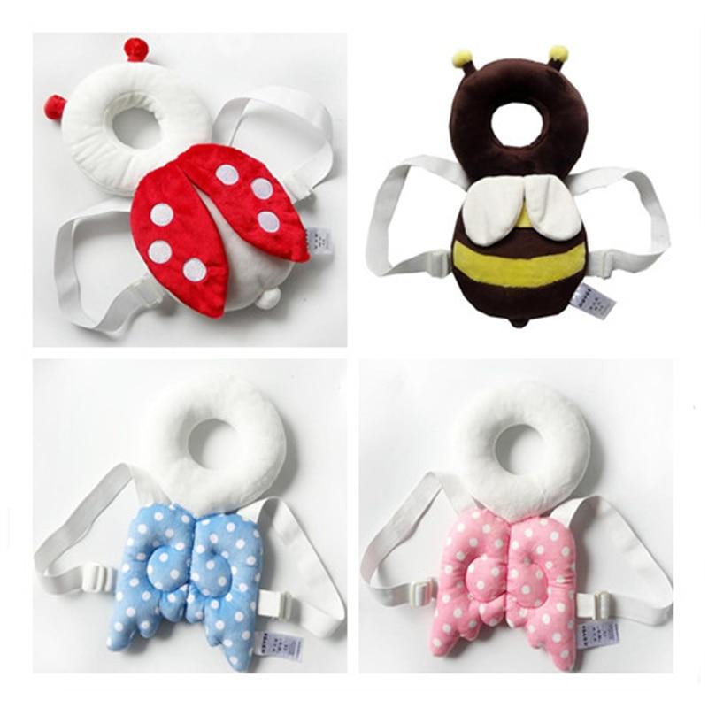 JJOVCE Baby Head Skyddsplatta Spädbarn Söt Vingar Anti Crash Pad - Sängkläder