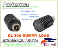 2014 New PL259 Male Connector Original Harvest Mobile Antenna DL 30A 0 500MHz 15Watt Dummy Load for CB Two way Radio