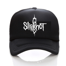 Summer Style Fashion Men cap Black Snapback Mens hat Cotton Rock Band Slipknot Baseball Cap