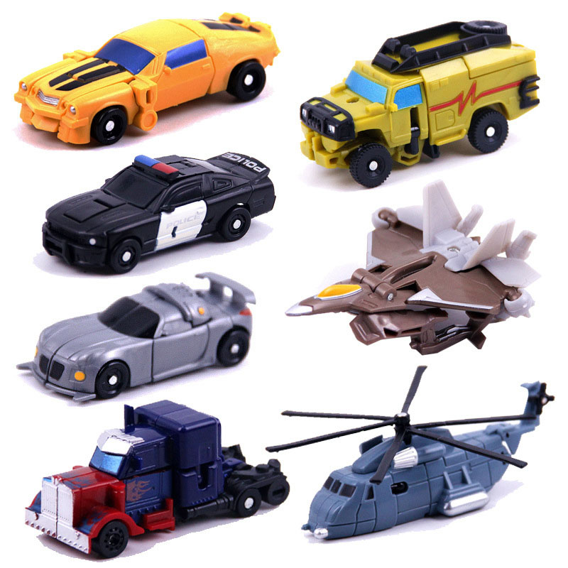 Image 5 - Kitoz Transformation Series Mini Robot Car Action Figure Model Deformation Plastic Toy Gift for Boy Children-in Diecasts & Toy Vehicles from Toys & Hobbies
