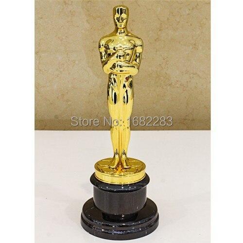 Academy Award Oscar Statue, Oscar Trophée, Zinc Alliage Réplique Oscar Trophée,