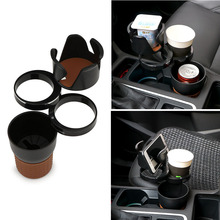 Car-styling Car Organizer Auto Sunglasses Drink Cup Holder Car Phone Holder for