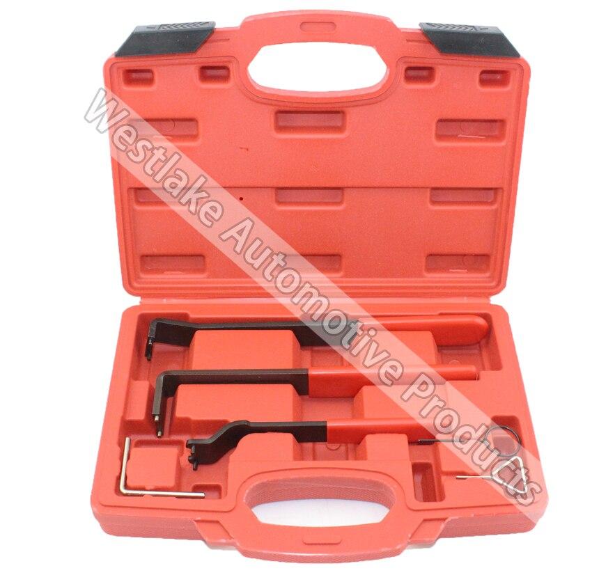 все цены на 6pcs Automotive Timing Belt Tensioner Tool Kit for VAG for VW Audi Seat T40011 T03006 T10060A онлайн
