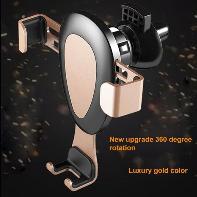 6 inch Universal Car Phone Holder Air Vent Outlet Gravity Mobile Phone Holder For iPhone X 8 7 Stand Bracket Holder For Samsung