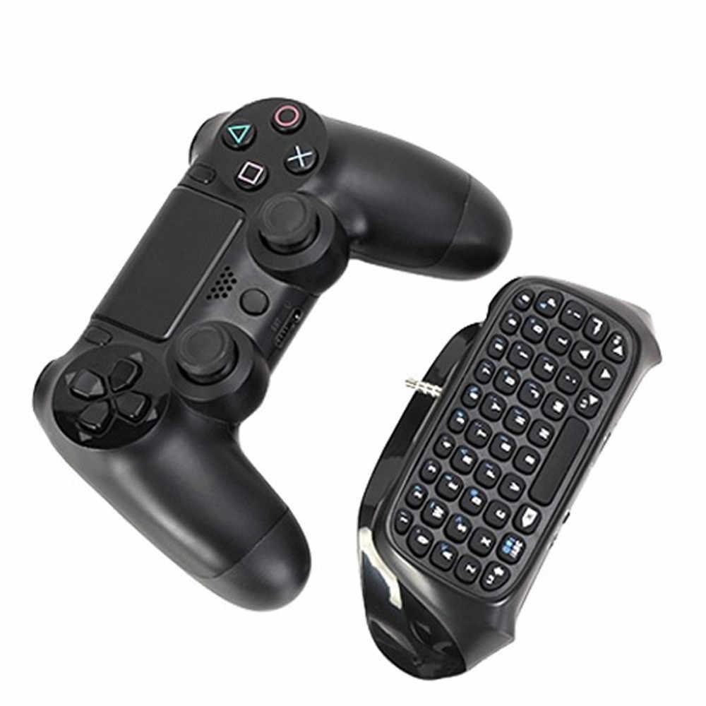 Epula Mini BTV Keyboard Nirkabel Keypad untuk Sony PS4 PlayStation 4 Controller Bluetooth Jarak 8-10 Meter 130MA/ 5V