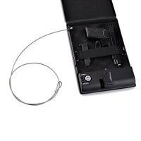 safe box fingerprint ammo boxes biometric gun keybox portable safebox strongbox safes safety security money car cashbox lock
