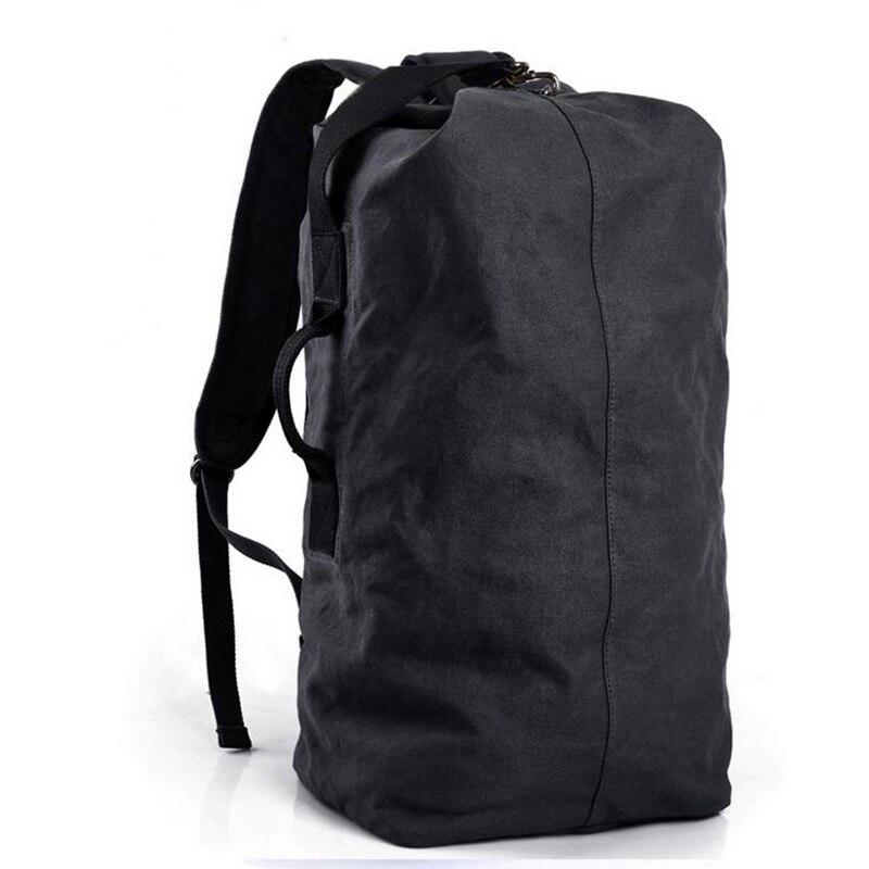 OZUKO 2018 Large Capacity Men backpack Travel Canvas Rucksack Vintage Fashion Multifunctional Casual Travel Shoulder Bag Mochila цена