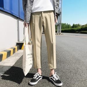 Image 1 - 2018 日本のメンズ綿カジュアルハーレムパンツファッショントレンドズボンヒップホップスタイルルーズ大サイズ黒/カーキパンツ M 3XL