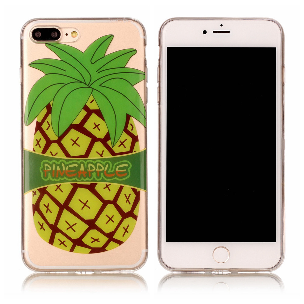 Soft Plastic TPU Phone Cases For Apple iPhone7Plus iPhone 7 Plus Full Housing Back Covers For iPhone 7Plus Cartoon Protect Cases