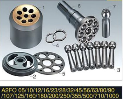 Rexroth series Pump Parts A2FO05 plunger pump cylinder block valve plate retainer plate piston