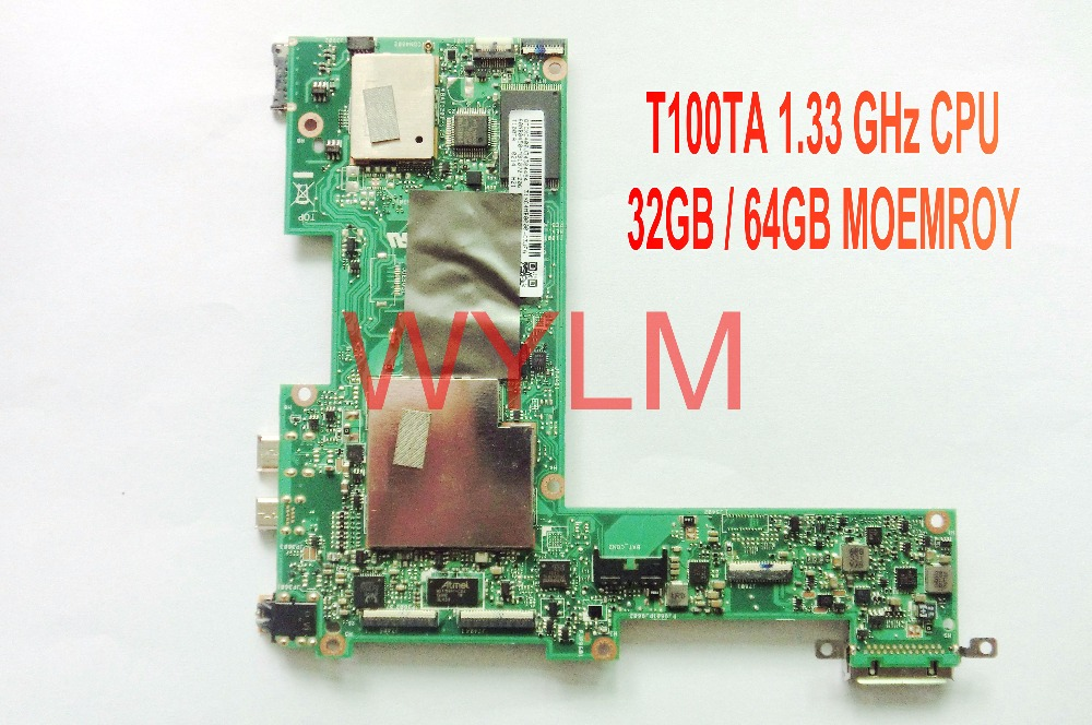 free shipping original T100T T100TA tablet 32GB / 64GB motherboard MAINBOARD MAIN BOARD 1.33GHz CPU tested fully