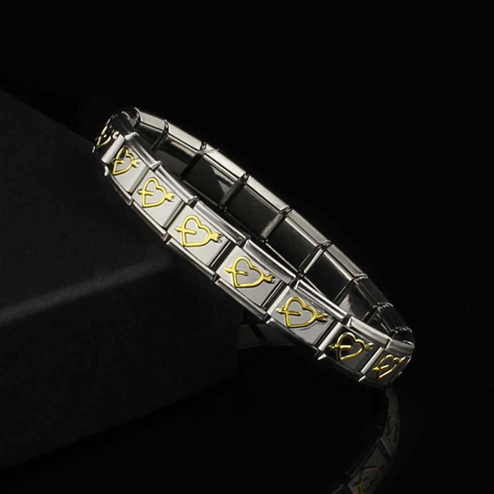 Bracelets For Women Men Couple Bracelets Bangles Silver Stainless Steel Bracelet Flower Heart Dolphin 2019 New Fashion Jewelry