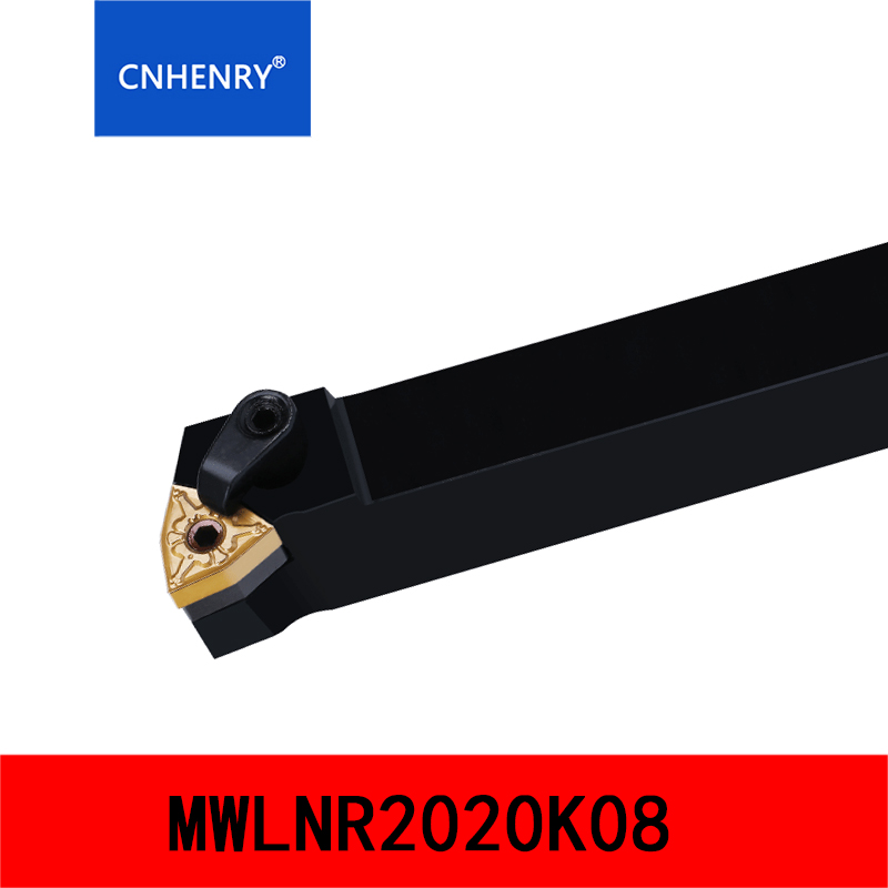 MWLNR2020K08 MWLNR2525M08 External Turning Tool 95 Degree Indexable Lathe Tools CNC Inserts Holder Machine