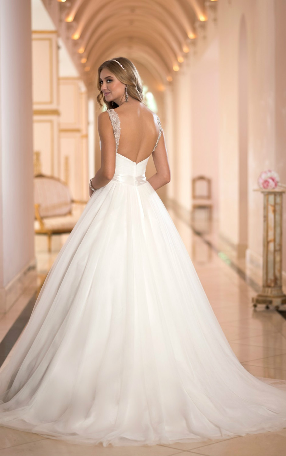 This princess ball gown wedding dress from the Stella York ...