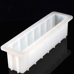 Image 3 - מערבולת לעבד סבון סיליקון עובש סבונים ביצוע עובש עם שקוף אנכי אקריליק עץ