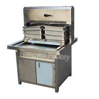 2 automática máquina de moldagem de leite de soja tofu máquina de prensagem de coalhada de feijão comercial único pan presser