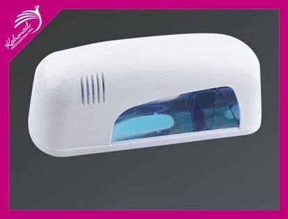 Free shipping 9W Nail Art UV Gel Curing Lamp Dryer  , uv lamp for nail , uv hand lamp,
