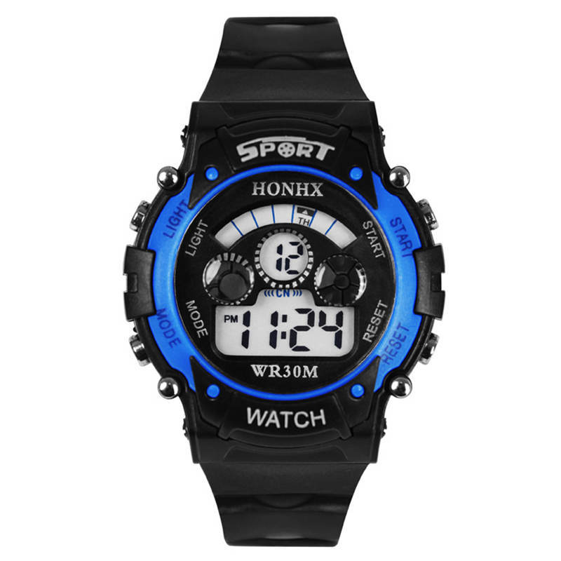 Waterproof Children Kids Boy Watches Digital LED Quartz Alarm Date Sports Electronic Quartz Child Wrist Watch Dropship Relogio