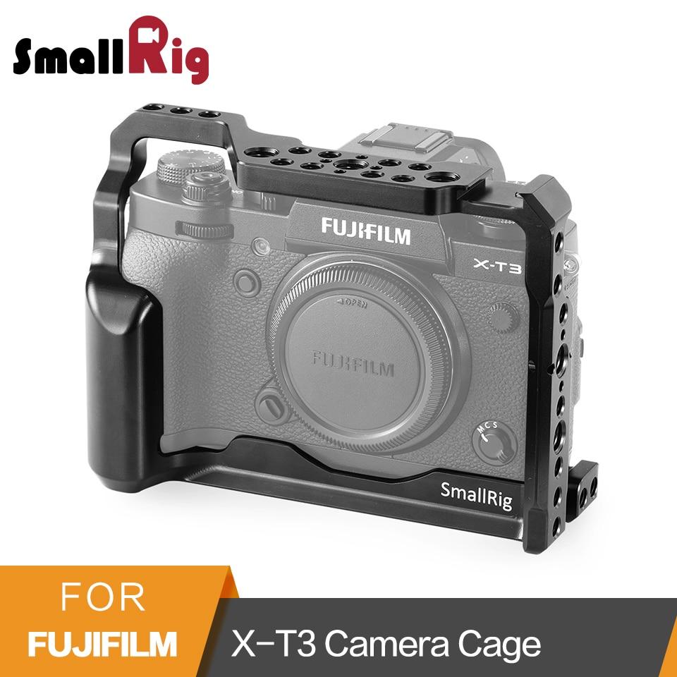 SmallRig X-T3 En Alliage D'aluminium Caméra Vidéo Cage pour Fujifilm X-T3 Caméra Cage Stabilisateur Rig Housse de Protection-2228