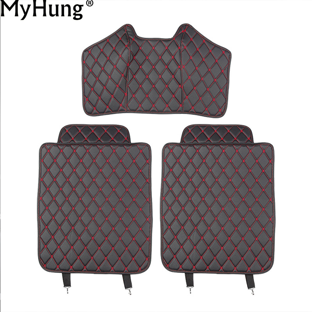 High Quality Car Covers Fit For Hyundai MISTRA Car Seat Back Protector Pad For Children Baby Kick Mat Mud Clean Car Styling