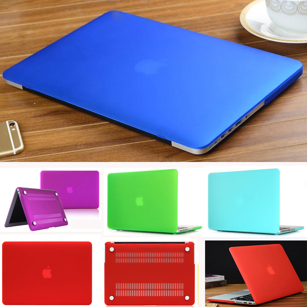 Matte Laptop Case For Apple Macbook Air Pro Retina 11 12 13 15 Shell Cover For Mac 11.6 13.3 15.4 Touch Bar