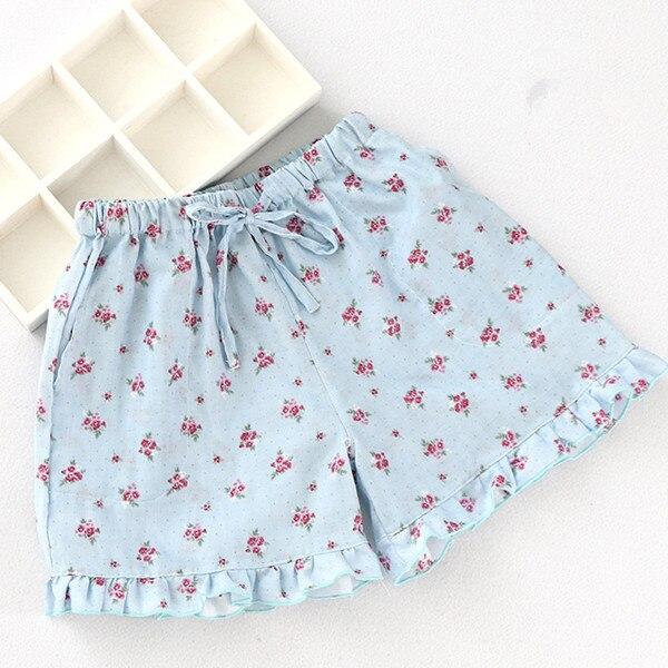2017 Summer shorts women pajamas pant pijamas female pantalon pijama mujer cotton sleep pants casual homewear pant S0146