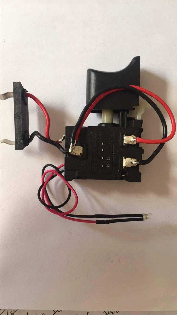 16A DC 7.2-24 V vitesse contrôle Jlevel interrupteur avec câble et voyant FA8-16/1 FA021A-16