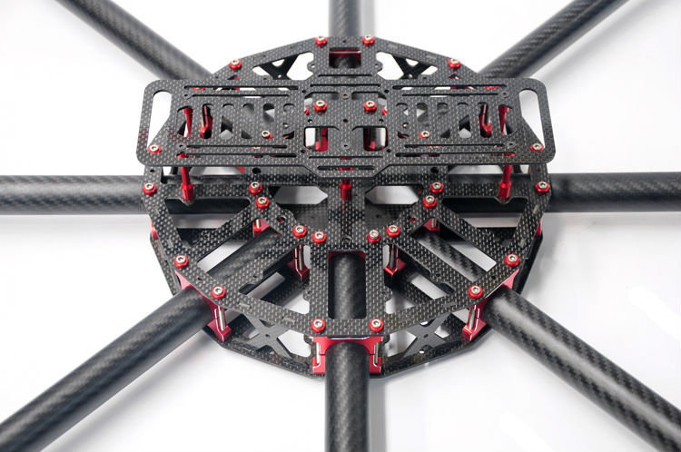 hh dragonslayer 1050mm large grade professional 25mm pure carbon fiber tube octocopterhexacopterquadcopter frame kit in parts accessories from toys