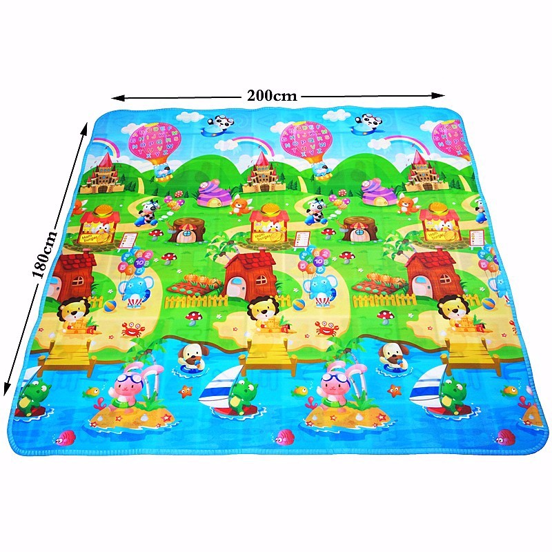 Baby Playmat Baby Play Mat Baby Toys For Children Mat Kids Rug Developing Mat Eva Foam Puzzles Rubber Carpet DropShipping in Play Mats from Toys Hobbies