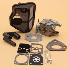 Carburetor Air Filter Grommet Muffler Gasket Repair Kit For Husqvarna 142 141 137 136 Chainsaw Zama C1Q-W29E Carb