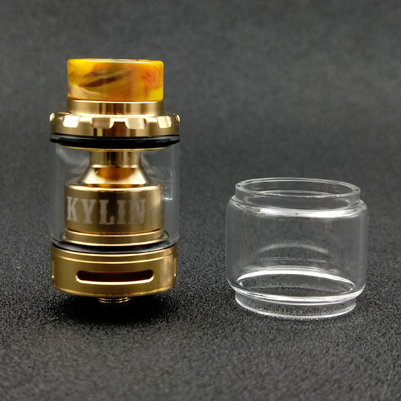 100% Original VapeSoon Replacement Pyrex  Glass Tube For  Kylin Mini RTA 3ml Extend 5ML TANK Atomizer