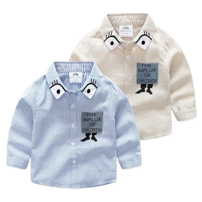 Mutter & Kinder Baby Cartoon Hemd 2018 Frühling Kleid Koreanische Version Von Neuen Jungen Kinder Tragen Kinder Kleidung Hemd Tx 8228 KöStlich Im Geschmack Jungen Kleidung