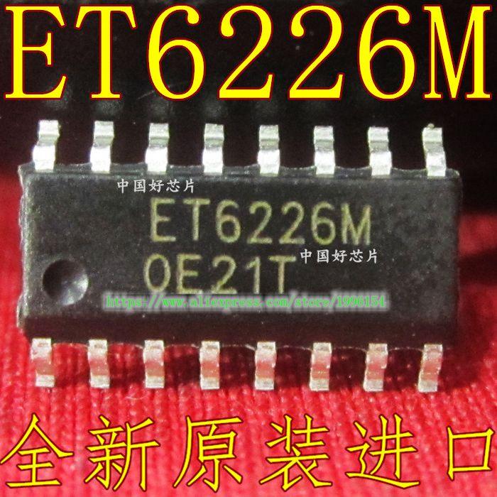 2pcs/lot ET6226M ET6226 SOP-16 In Stock