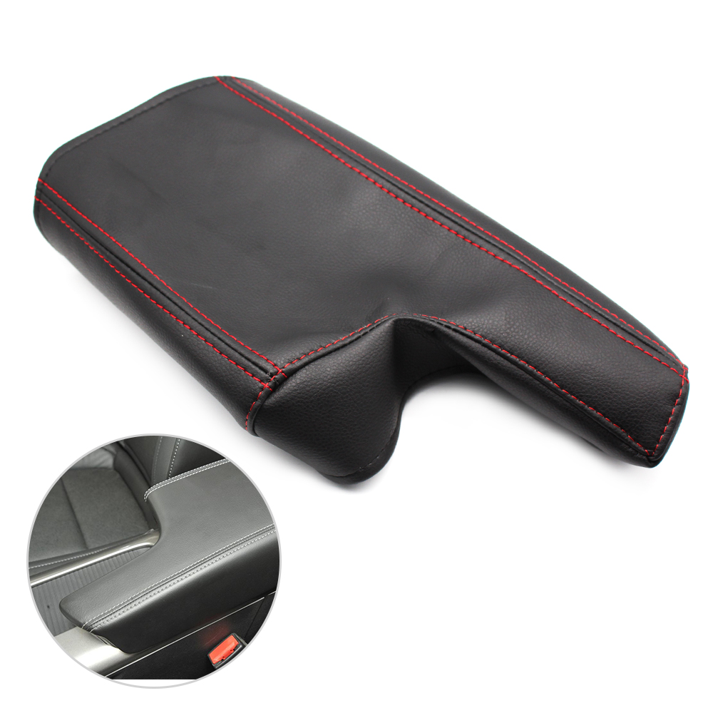 Car Styling Center Console Armrest Box Cover microfiber leather Protection Pad for Chevrolet Malibu 2013 2014