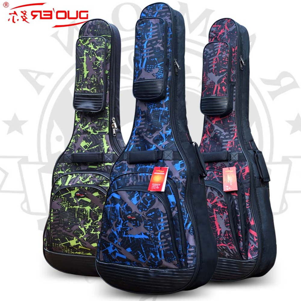 Top quality large 42 wood classica acoustic guitar bag gig soft case cover package with straps padded backpack waterproof lc model toys saint seiya cloth myth ex gold saint capricorn shura action figure classic collection toys brinquedos