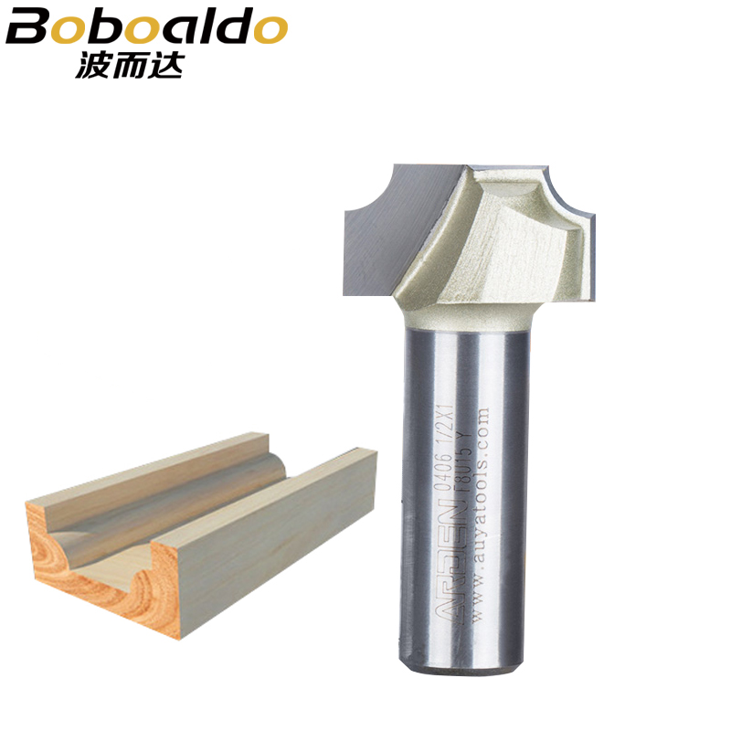 1/2 Shank Two Flutes Beading Cutter Providing Round Over Ovolo Cut Plunge Beading Cutter Cove Groove Arden Router Bit