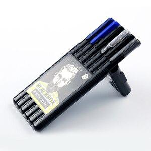 Image 1 - Staedtler Triplus boîte noire, crayon mécanique 0.5mm, pointe marqueur Permanent, papeterie