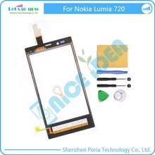 New Touch Screen Digitizer Replacement For Nokia Lumia 720 Touch Panel Glass Sensor Touch Screen With Tools