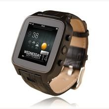 2016 neueste Ankunft Smart Uhr Android/ISO Wasserdichte Smartwatch mit sim WIFI GSM wearale Leder Reloj Inteligente Uhr M8