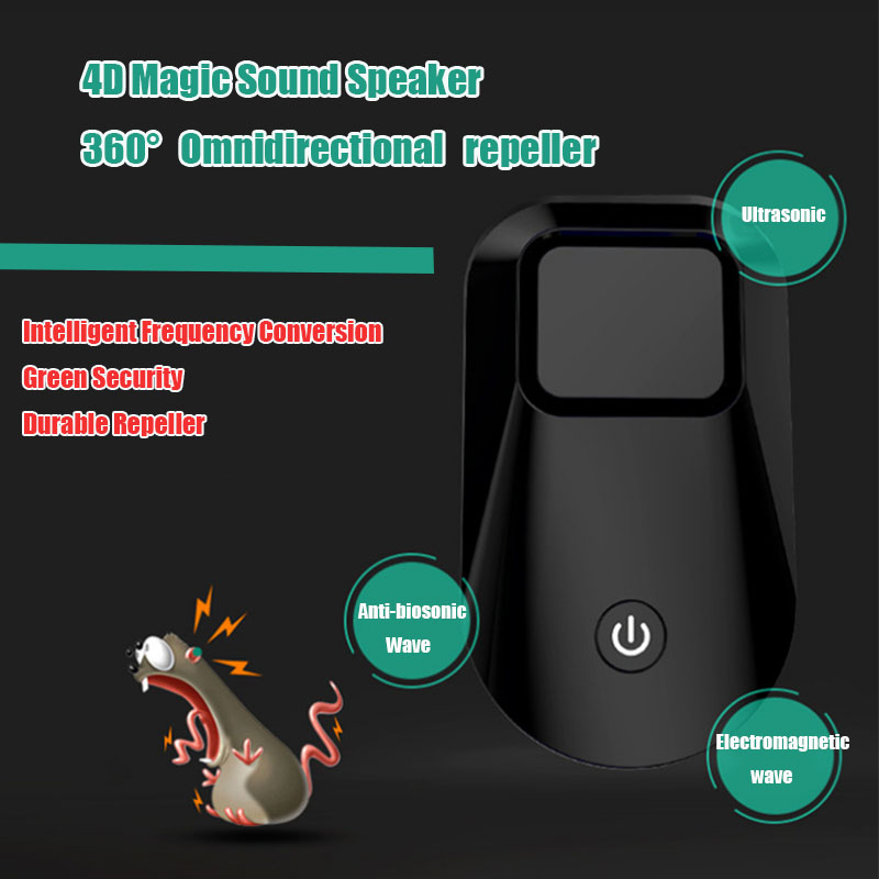 Multifunction Ultrasonic Pest Repellent Upgraded Version Electronic Cat Anti Mosquito Rat Mouse Insect Killer Human&Pet Friendly
