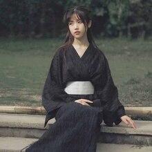 Geleneksel japon kimono s japon geisha kostüm obi kimono haori japon kimono kadın geisha giyim AA4410
