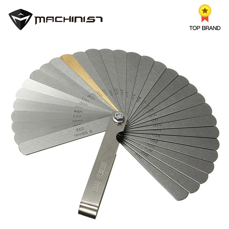 Internal Diameter Stainless Steel Feeler 12 Playing Bent Feeler Repair Measuring Tools For Car Auto