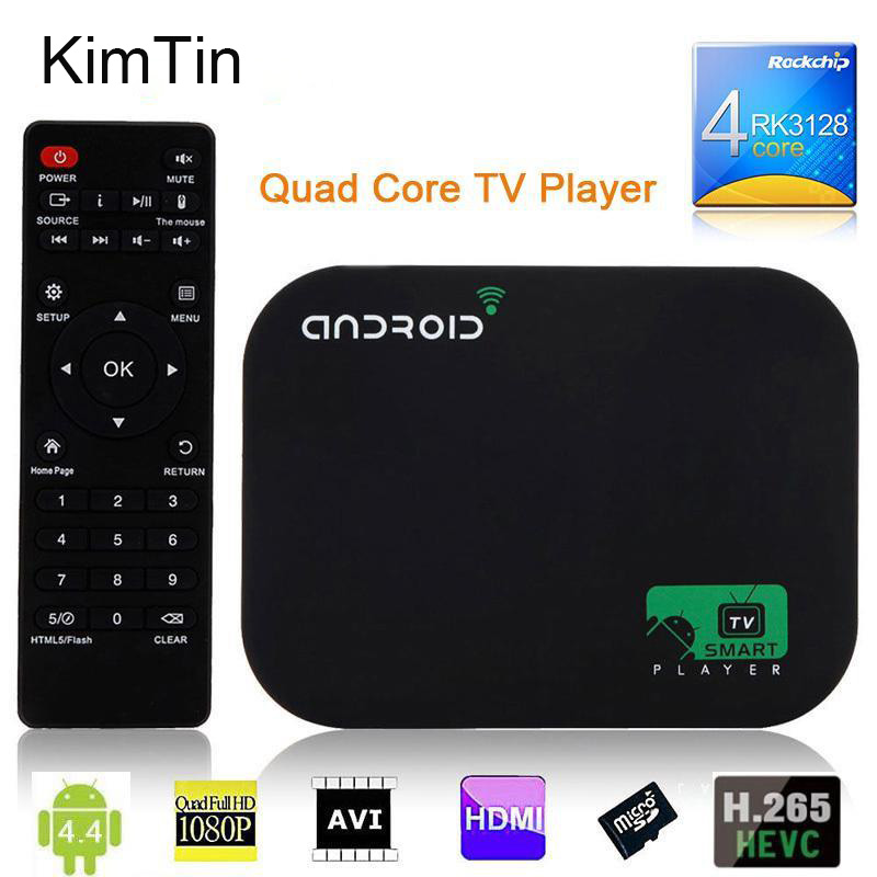 Free shipping 8GB Quad Core Android Smart TV BOX 1080P Media Player XBMC KODI YOUTOBE Google WIFI HDD player + Remote Control original m8s android tv box amlogic s812 quad core gpu mali450 2g 8g kodi xbmc media player 2 4g 5g wifi with air mouse keyboard